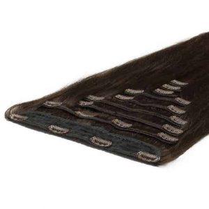 Extension Clip Deluxe 50cm 200g 02 Marrone Scuro-0