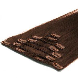 Extension Clip 50cm 70g 04 Marrone Cioccolato-0
