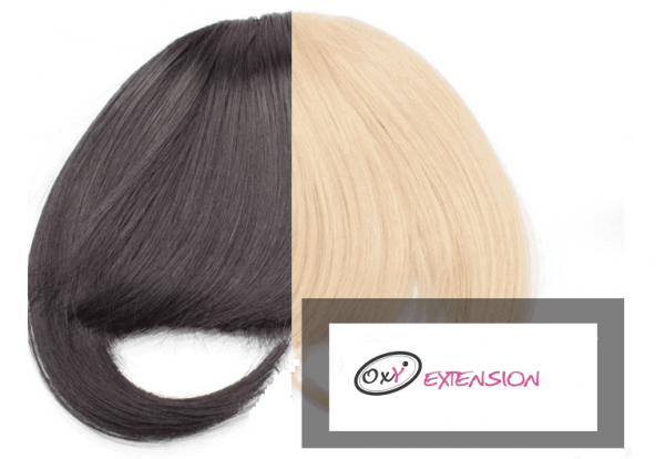 Extension capelli frangia clip on 25g-0