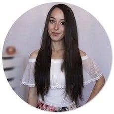 Extensionn capelli con clip 50 cm 160 gr